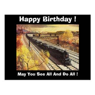 Cartão Postal O petroleiro da estrada de ferro de Pensilvânia
