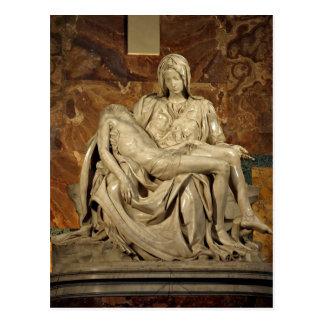 Cartão Postal O Piet de Michelangelo sumário? A basílica de St