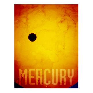 Cartão Postal O planeta Mercury
