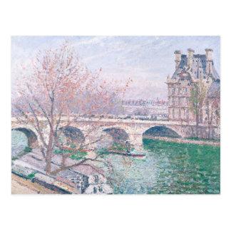Cartão Postal O Pont-Real e o Pavillon de Flore