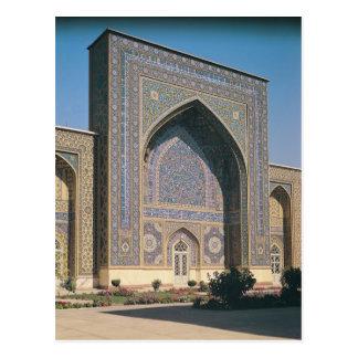 Cartão Postal O portal da entrada ao santuário, construído em