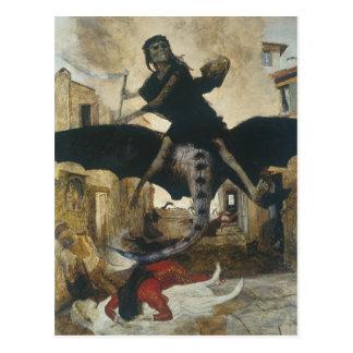 Cartão Postal O praga por Arnold Böcklin