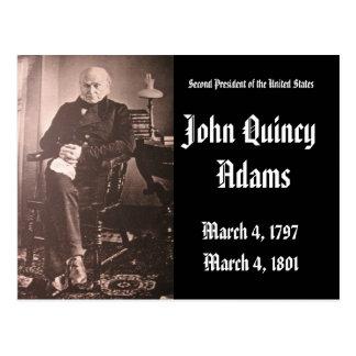 Cartão Postal ò Presidente dos Estados Unidos John Adams