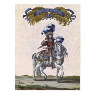 Cartão Postal O príncipe de Conde