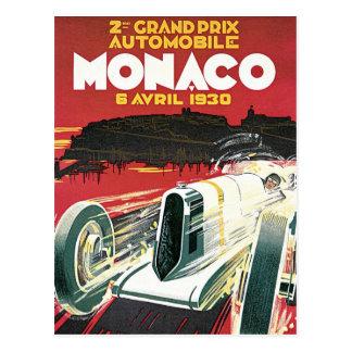 Cartão Postal ò Prix grande de Monaco