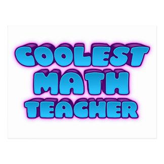 Cartão Postal o professor de matemática o mais fresco