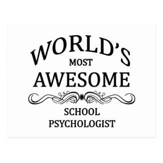 Cartão Postal O psicólogo o mais impressionante da escola do