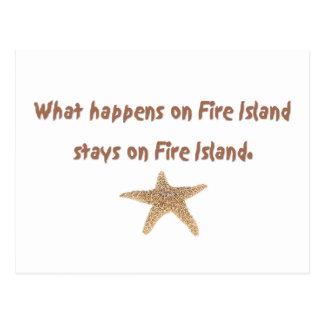 Cartão Postal O que acontece na ilha do fogo