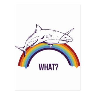 Cartão Postal o que, peixes refrigeram o design gráfico