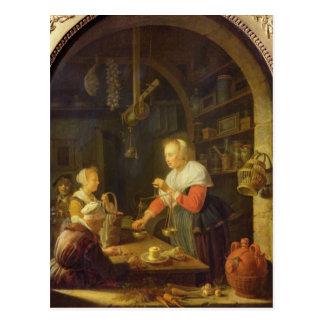 Cartão Postal O quitandeiro da vila, 1647