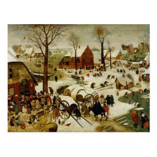 Cartão Postal O recenseamento em Bethlehem