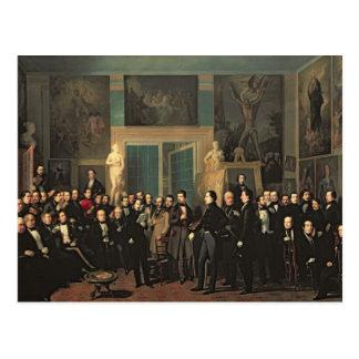 Cartão Postal O recolhimento dos poetas, 1846