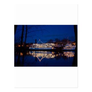 Cartão Postal O rei na noite - Sacramento do delta, CA