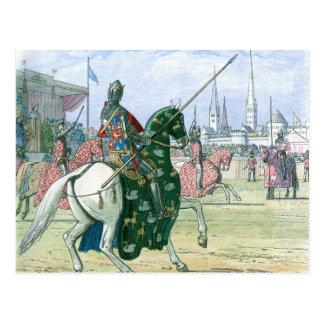 Cartão Postal O rei Richard II para o duelo