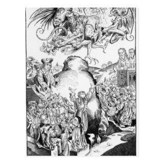 Cartão Postal O reino do anticristo