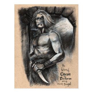 Cartão Postal O retorno de Crom o bárbaro
