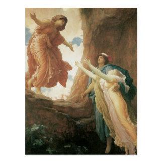 Cartão Postal O retorno de Persephone por Frederic Leighton
