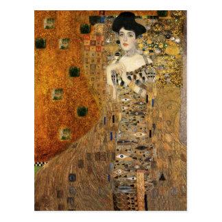 Cartão Postal O retrato Adele Bloch-Bauer de Klimt