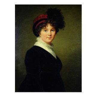 Cartão Postal O retrato de Arabella lida, duquesa de Dorset