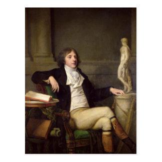 Cartão Postal O retrato presumiu ser Auguste Louis