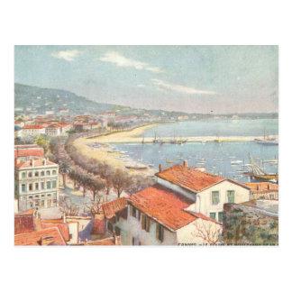 Cartão Postal O Riviera francês