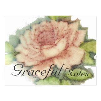 Cartão Postal O rosa do inglês Cartão-Personaliza