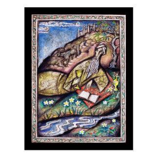 Cartão Postal O Rubaiyat de Omar Khayyam