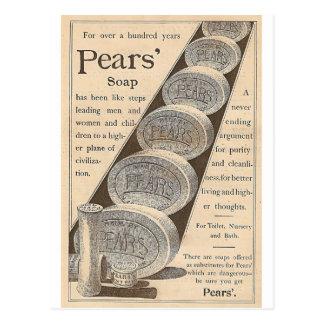 Cartão Postal O sabão das peras
