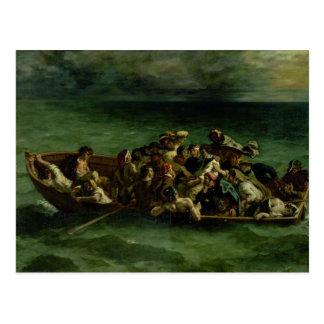Cartão Postal O Shipwreck de Don Juan, 1840