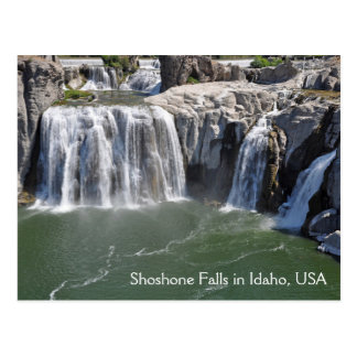 Cartão Postal O Shoshone cai em Idaho EUA