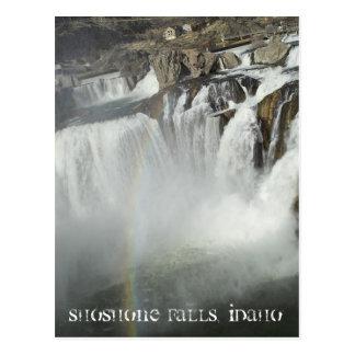 Cartão Postal O Shoshone cai Idaho
