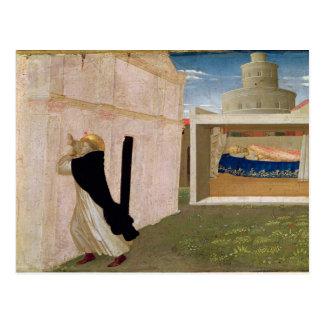 Cartão Postal O sonho do Innocent III