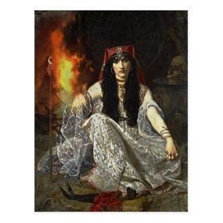Cartão Postal O Sorceress