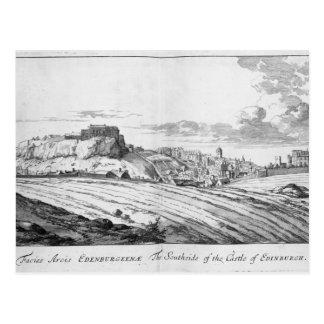 Cartão Postal O Southside do castelo de Edimburgo