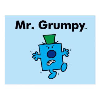 Cartão Postal O Sr. Mal-humorado do Sr. Homem | é um Grump