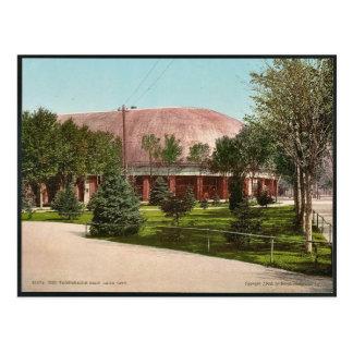 Cartão Postal O tabernáculo, clássico Photochrom de Salt Lake