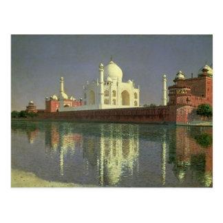 Cartão Postal O Taj Mahal, 1874-76