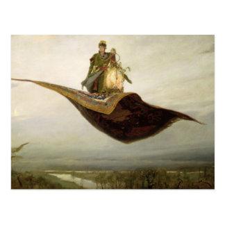 Cartão Postal O tapete mágico, 1880