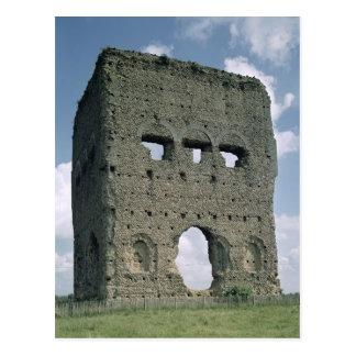 Cartão Postal O templo de Janus, Tene mim