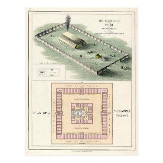 Cartão Postal O templo de Solomon