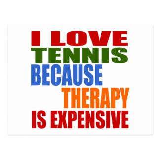 Cartão Postal O tênis é minha terapia