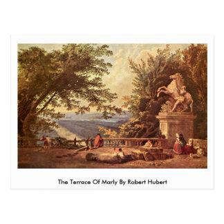 Cartão Postal O terraço de margoso por Robert Hubert