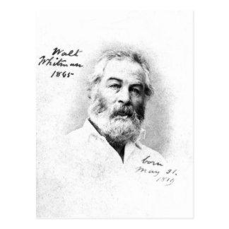 Cartão Postal O ❝To de Walt Whitman seja com amigos é citações