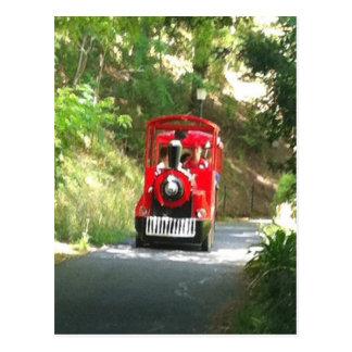 Cartão Postal O Toot do Toot o trem vermelho é Toot de vinda do
