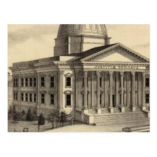 Cartão Postal O tribunal, Santa Clara Co
