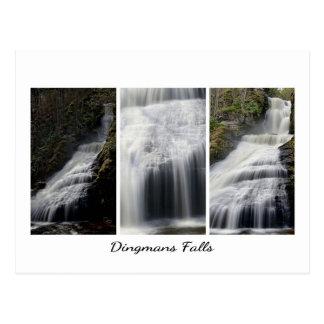 Cartão Postal O trio de Dingmans cai fotografias