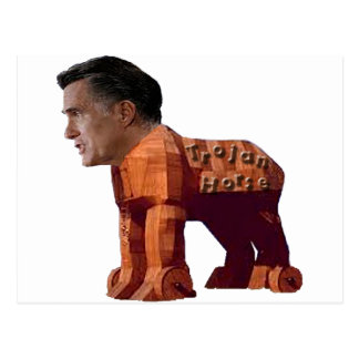 Cartão Postal O Trojan Horse