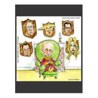 Cartão Postal O trunfo é Putin nos presentes de Ritz
