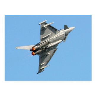 Cartão Postal O tufão de Eurofighter