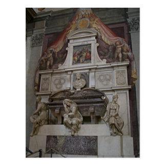Cartão Postal O túmulo de Michelangelo da descrição em Basílica